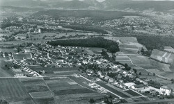 1950 Luftbild Richtung Westen