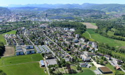 Luftaufnahme Richtung Westen/Aarau