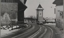 Hauptstrasse im Rank 50er-Jahre