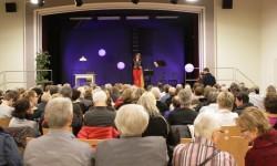 Stadträtin Franziska Graf begrüsst die Gäste