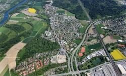Luftaufnahme Richtung Osten/Rupperswil