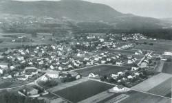 1951 Luftbild Richtung Osten