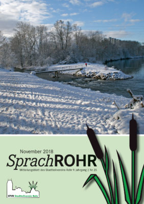 SprachRohr November 2018